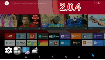 DOWNLOAD VÀ UPDATE FIRMWARE ANDROID GOOGLE TV 2.0.4 ( ANDROID 7 ) CHO HIMEDIA Q5PRO - HIMEDIA Q10PRO